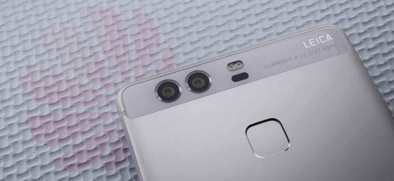 cámara del Huawei P9