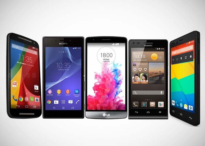 Gama comprar un Smartphone